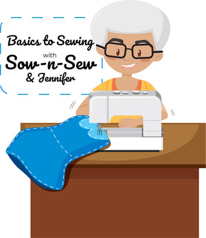 Sewing Classes with Sow -n- Sew