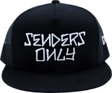 Stacked TRUCKER Hat - BLACK