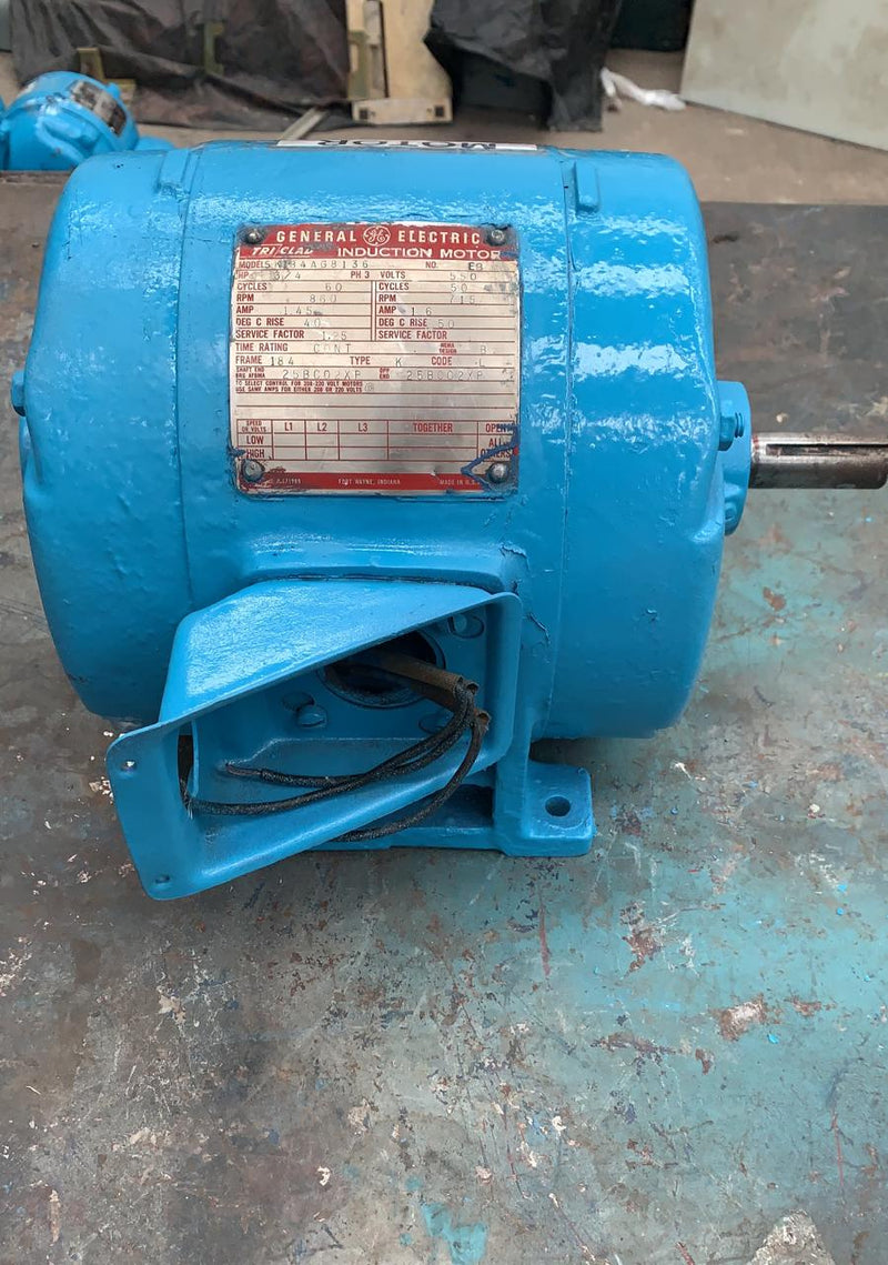 Motor de Corriente Alterna 3/4 HP General Electric 5K184AG8136
