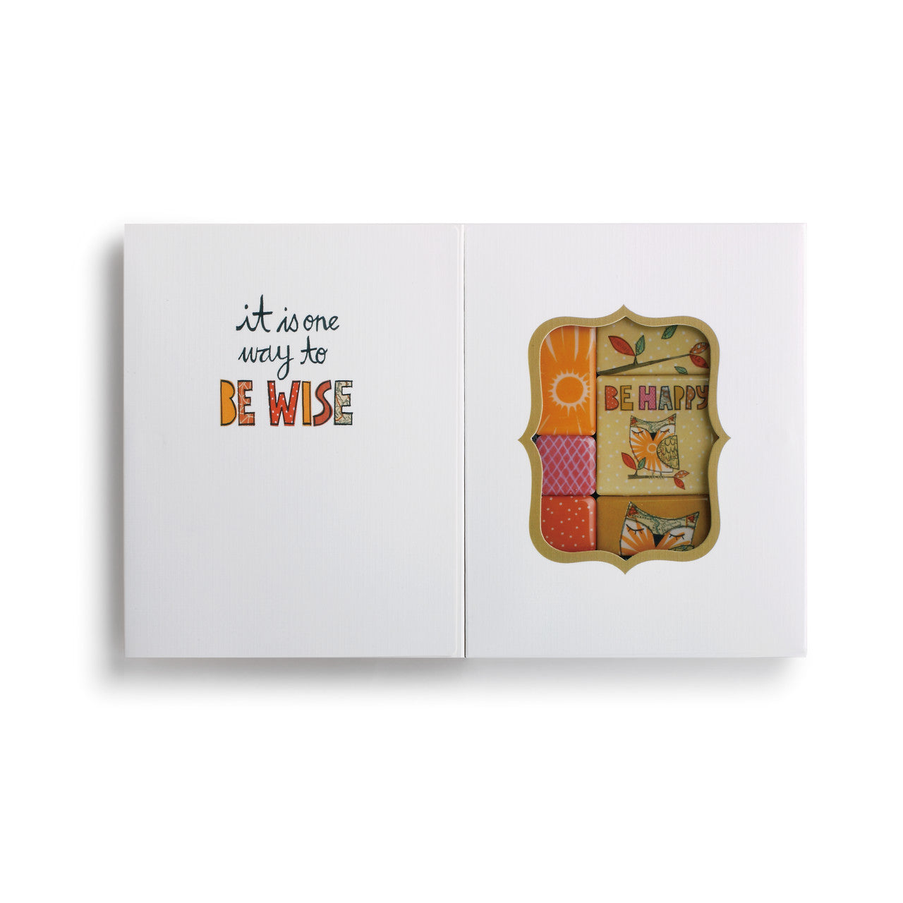 2 In 1 Love Magnet Set And Greeting Card