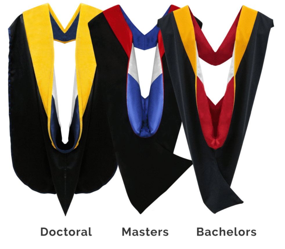 Traditional vs Shield Style Academic Hoods