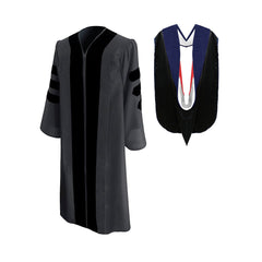 Classic Presidential & Trustee Graduation Gown & Hood Package