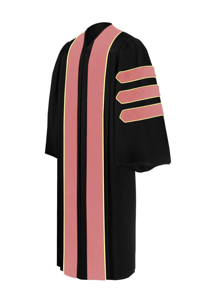 Doctor of Public Health Doctoral Gown - Academic Regalia - Graduation Cap and Gown