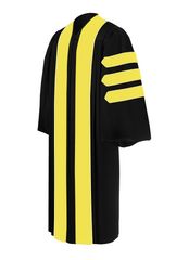 Doctor of Library Science Doctoral Gown - Academic Regalia - Graduation Cap and Gown