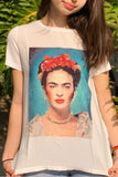 VIVA FRIDA IN WHITE