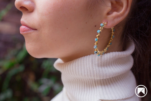 PAOLA HOOPS EARRINGS