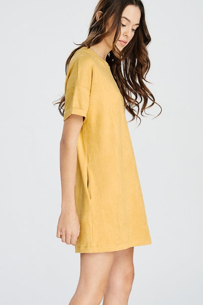 DREAMS SUEDE DRESS