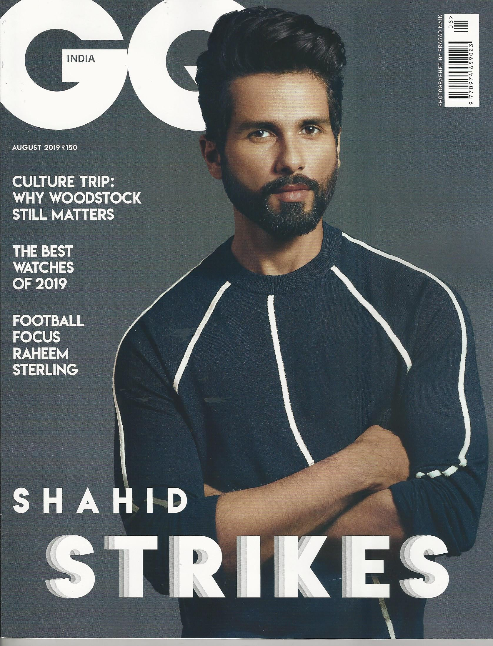 GQ India August 2019 Cover