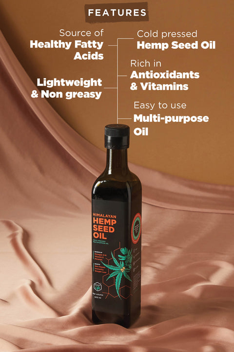 Hemp Seed Oil- 500ml
