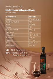 BOHECO Life Hemp Seed Oil