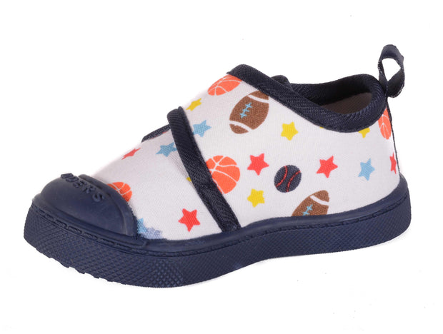 Skidders Baby Toddler Boys Canvas Walking Shoes Style SK1007 - Skidders.com