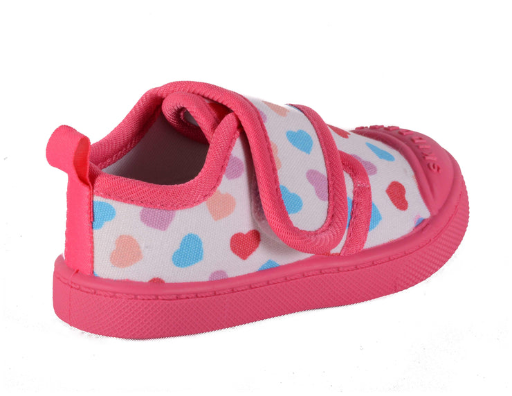 Skidders Baby Toddler Girls Canvas Walking Shoes Style SK1012 - Skidders.com