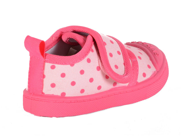 Skidders Baby Toddler Girls Canvas Walking Shoes Style SK1014 - Skidders.com