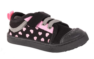 Skidders Soft Closure Baby Toddler Girls Shoes Style SK1029 - Skidders.com
