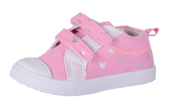 Skidders Soft Closure Baby Toddler Girls Shoes Style SK1031 - Skidders.com