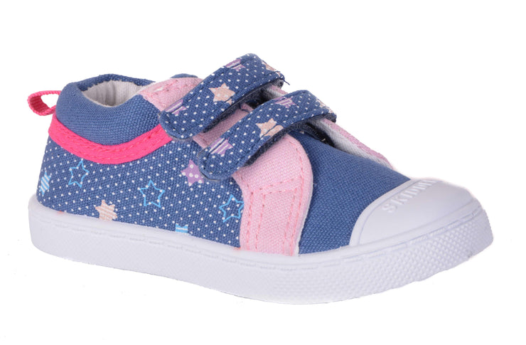 Skidders Soft Closure Baby Toddler Girls Shoes Style SK1032 - Skidders.com