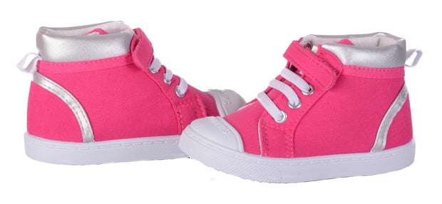 Skidders Soft Closure Baby Toddler Girls High Top Sneakers Style SK1033