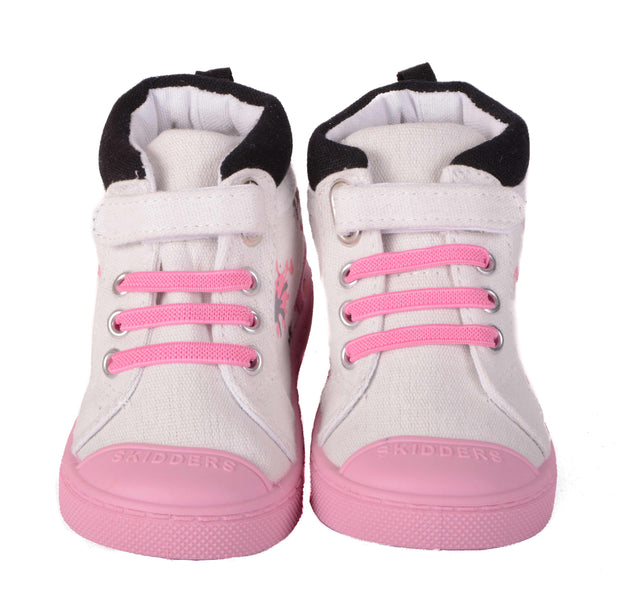 Skidders Soft Closure Baby Toddler Girls High Top Sneakers Style SK1035