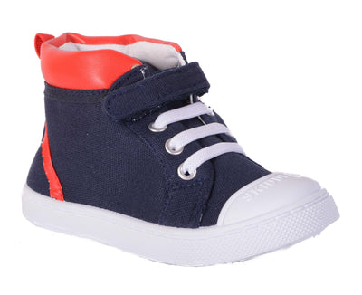 Skidders Soft Closure Baby Toddler Boys / Girls High Top Sneakers Style SK1037 - Skidders.com