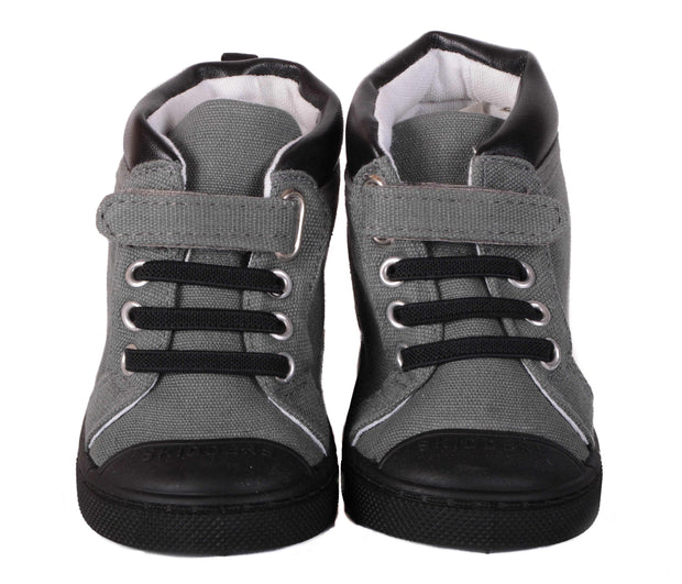Skidders Soft Closure Baby Toddler Boys / Girls High Top Sneakers Style SK1038