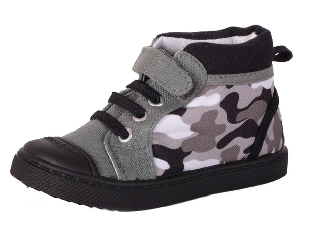 Skidders Soft Closure Baby Toddler Boys / Girls High Top Sneakers Style SK1039
