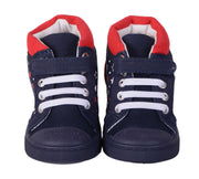Skidders Soft Closure Baby Toddler Girls High Top Sneakers Style SK1040