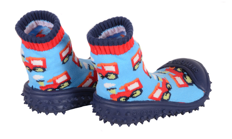 Skidders Baby Toddler Boys Grip Shoes Style 1148BF - Skidders.com