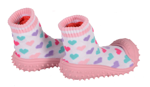 Skidders Baby Toddler Girls Grip Shoes Style 1149BF - Skidders.com