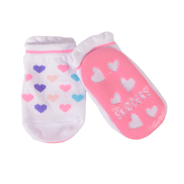 Skidders Baby Toddler Girls Grip Socks Style 1150BF - Skidders.com
