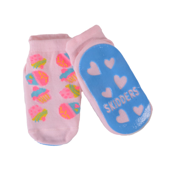 Skidders Baby Toddler Girls Grip Socks Style 1151BF - Skidders.com