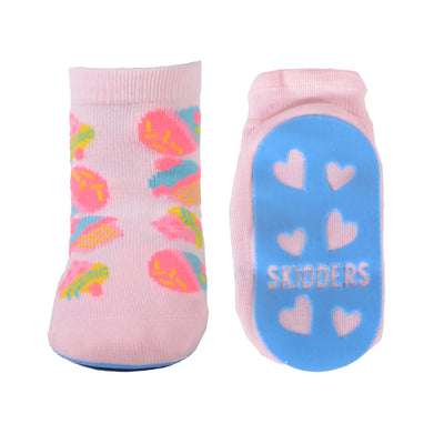 Skidders Baby Toddler Girls Grip Socks Style 1151BF