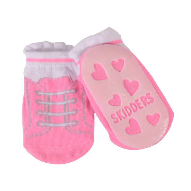 Skidders Baby Toddler Girls Grip Socks Style 1152BF