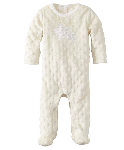 Vitamins Baby Unisex Newborn Footed Coverall Star - Footsis.com