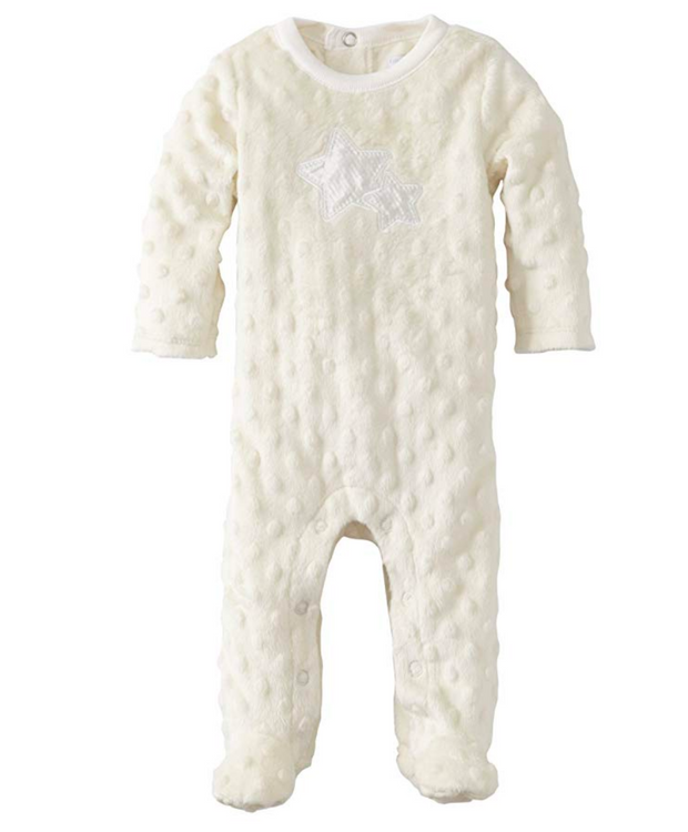 Vitamins Baby Unisex Newborn Footed Coverall Star - Skidders.com