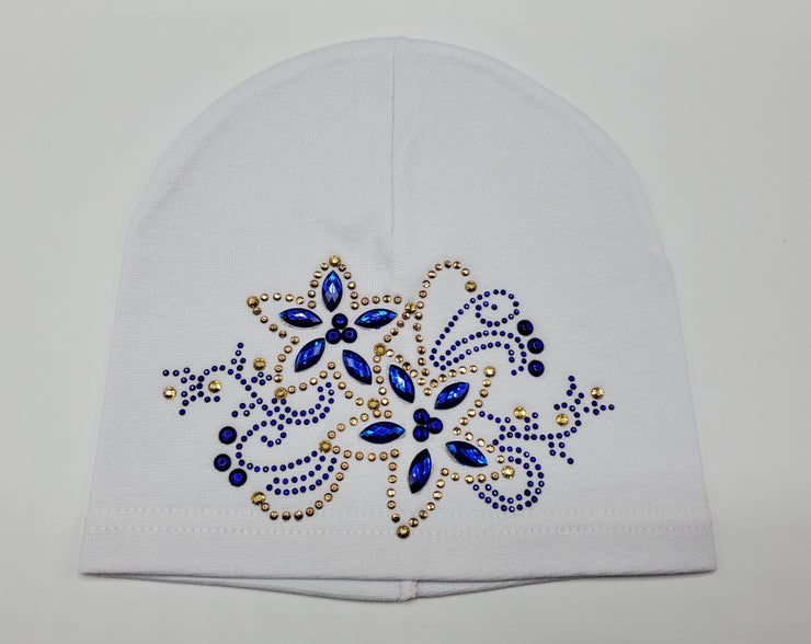 Girls' Cotton Blend Rhinestone Design Hat - Skidders.com