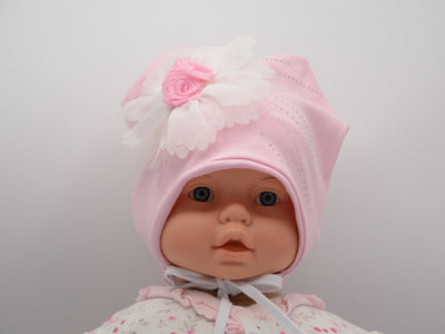 Limited Edition Soft Baby Girl Hat Cotton Blend Infant 0-18 Months