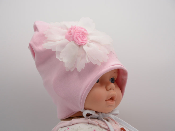 Limited Edition Soft Baby Girl Hat Cotton Blend Infant 0-18 Months - Skidders.com