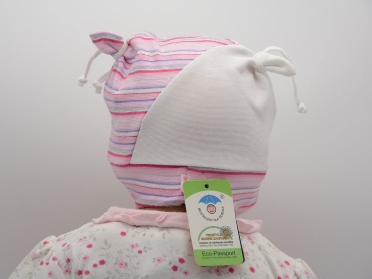 Limited Edition Soft Baby Girl 'Flower Bella' Hat Cotton Blend Baby 6-24 Months - Skidders.com