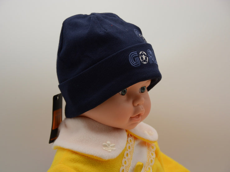 Limited Edition Soft Baby Boy Beanie Hat Cotton Blend Infant 0-6 Months