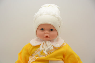 Limited Edition Soft Baby Girl Wool Blend Winter Hat Infant 6-12 Months; 12-18 Months - Footsis.com