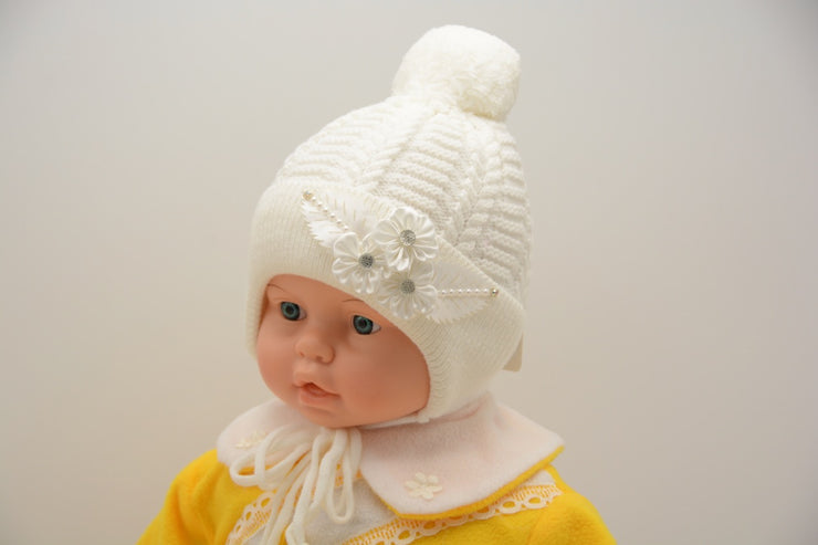 Limited Edition Soft Baby Girl Wool Blend Winter Hat Infant 6-18 Months