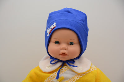 Limited Edition Soft Baby Boy 'Sport' Hat Cotton Blend Baby 12-24 Months - Footsis.com