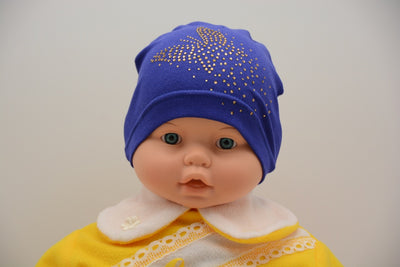 Limited Edition Soft Baby Girl Beanie Hat Cotton Blend Infant NB-3 Months; 3-6 Months - Footsis.com