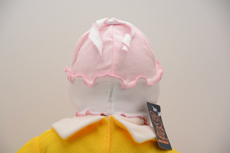 Limited Edition Soft Baby Girl 'Hearts' Hat Cotton Blend Infant 12-18 Months