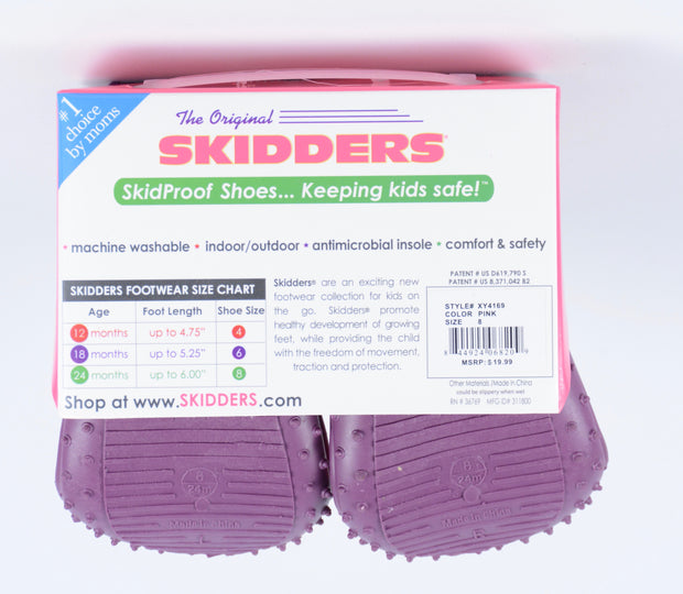 Skidders Baby Toddler Girls Shoes Style XY4169 - Skidders.com