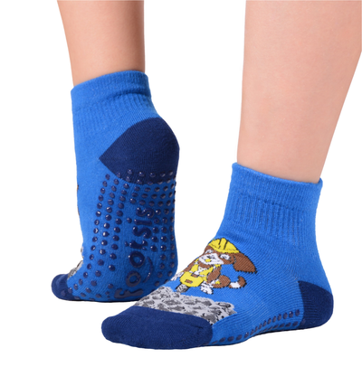 "FOOTSIS Non Slip Grip Socks for Yoga, Pilates, Barre, Home, Hospital ,Mommy and Me classes ""Puppy"" - Footsis.com"