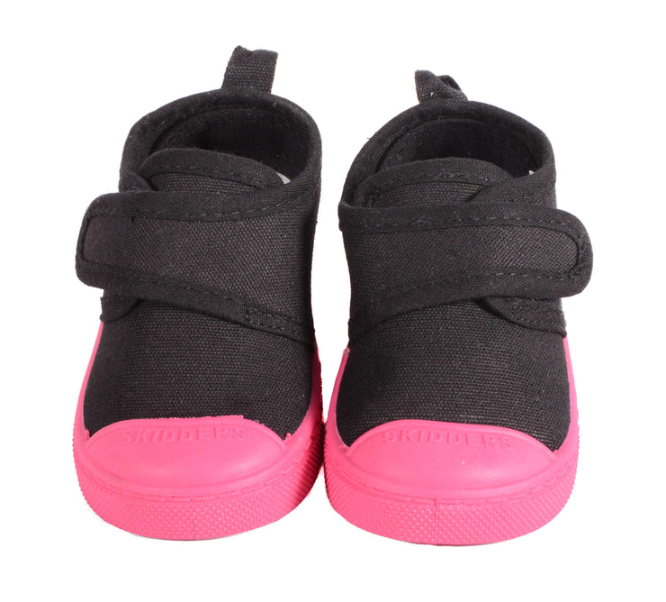 Skidders Baby Toddler Girls Canvas Walking Shoes Style SK1065 - Skidders.com