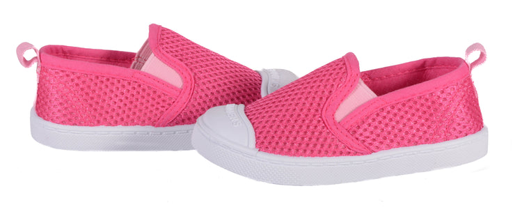 Skidders Breathable Mesh Girls Slip-on Shoes Style SK1081