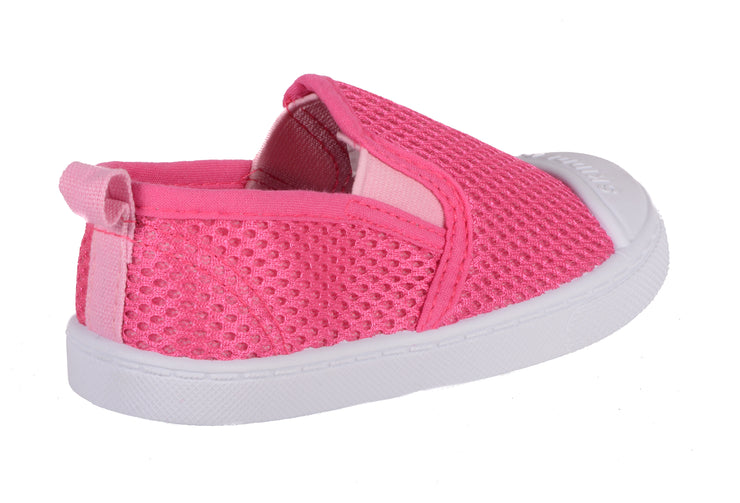 Skidders Breathable Mesh Girls Slip-on Shoes Style SK1081 - Skidders.com