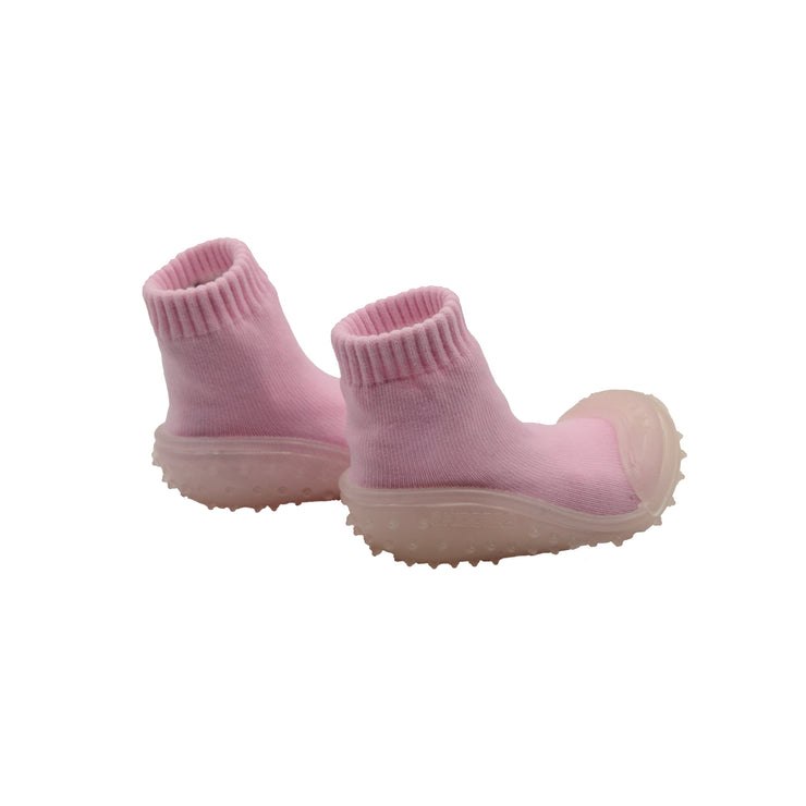 Skidders New 2019 Collection Baby Toddler Girl Crystal Grip Limited Edition Pink Shoes - Skidders.com